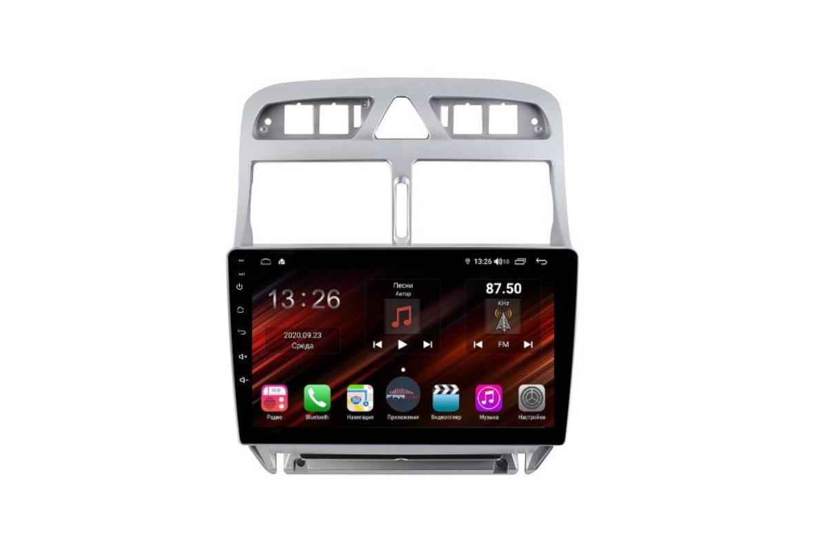 Штатная магнитола FarCar s400 Super HD для Peugeot 307 на Android (XH017R) (+ Камера заднего вида в подарок!)