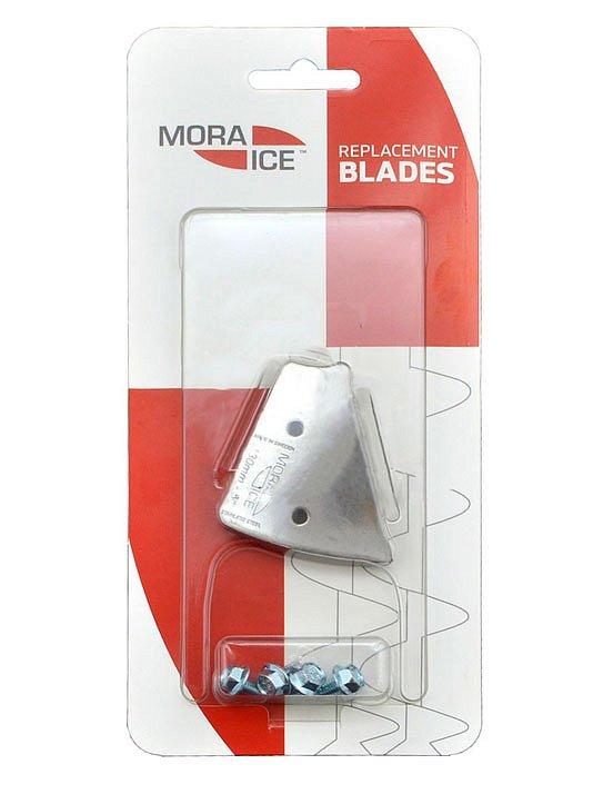 Сменные ножи MORA ICE для ручного ледобура Micro, Arctic, Expert Pro 110 мм (с болтами для крепления) ножи для электрорубанка 110 мм 2шт