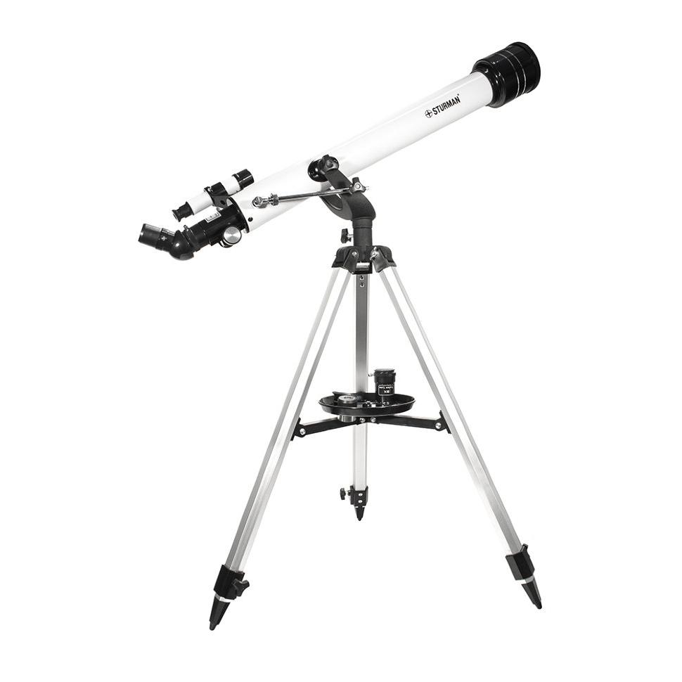 Телескоп STURMAN 60700 AZ (+ Книга «Космос. Непустая пустота» в подарок!) телескоп sturman f36050m