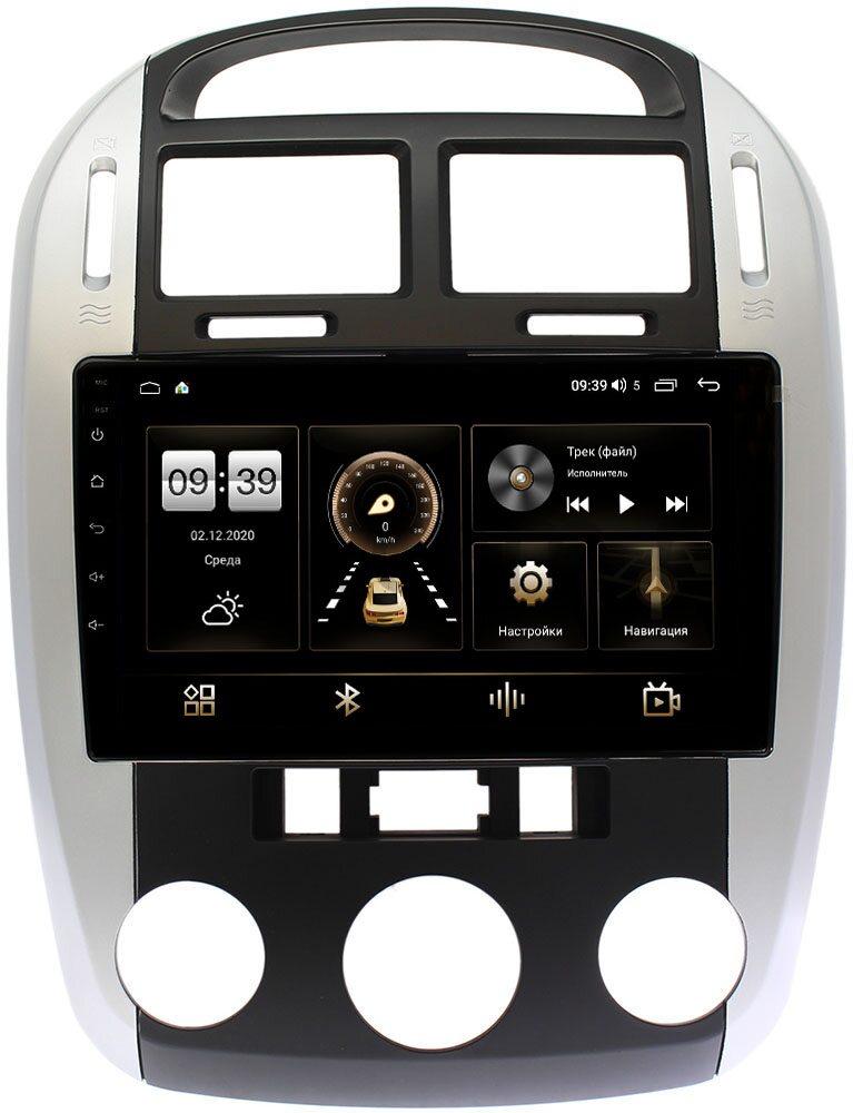 Штатная магнитола Kia Cerato I 2003-2008 LeTrun 4166-9143 на Android 10 (4G-SIM, 3/32, DSP, QLed) (с кондиционером) (+ Камера заднего вида в подарок!)