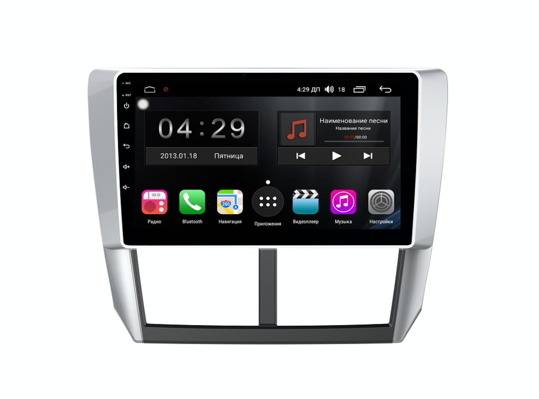 Фото - Штатная магнитола FarCar s300-SIM 4G для Subaru Forester 2008-2012 на Android (RG062R) (+ Камера заднего вида в подарок!) штатная магнитола farcar s300 sim 4g для mercedes r class на android rt215r камера заднего вида в подарок