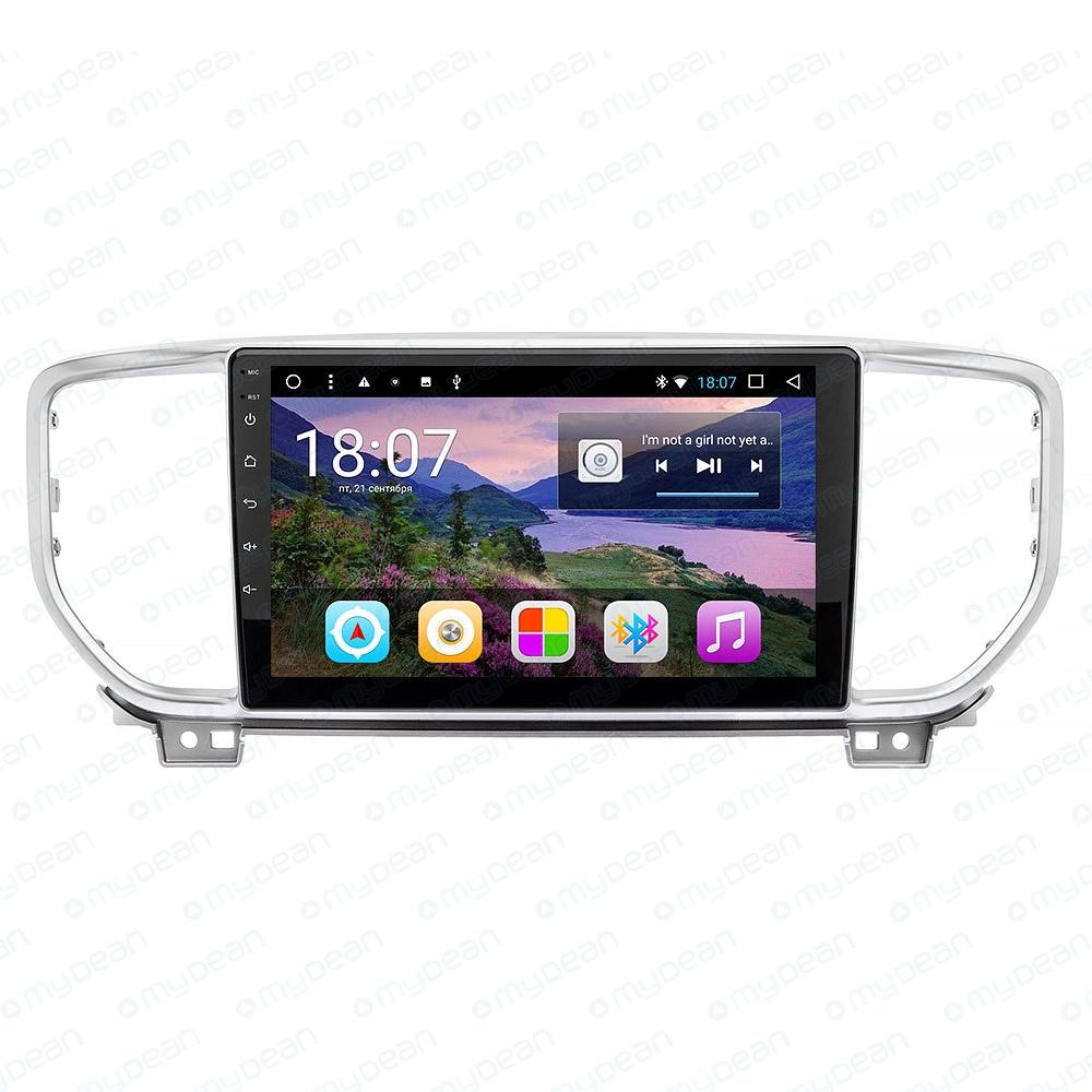 Картинка для Штатное головное устройство MyDean A577 для KIA Sportage (2018-2019) Android 8.1 (+ Камера заднего вида в подарок!)