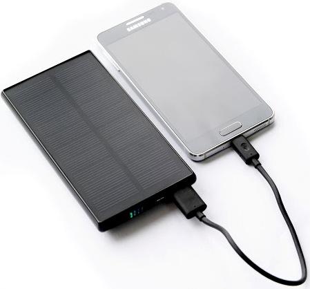 Портативное зарядное устройство на солнечной батарее SITITEK Sun-Battery SC-09 (5000 мАч)