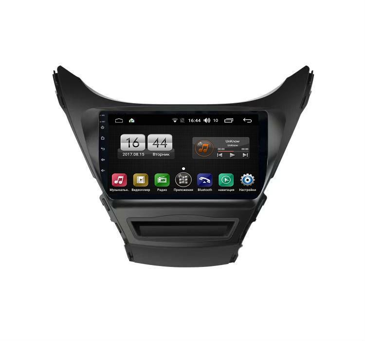 Штатная магнитола FarCar s195 для Hyundai Elantra 2011-2013 на Android (LX360R) (+ Камера заднего вида в подарок!)