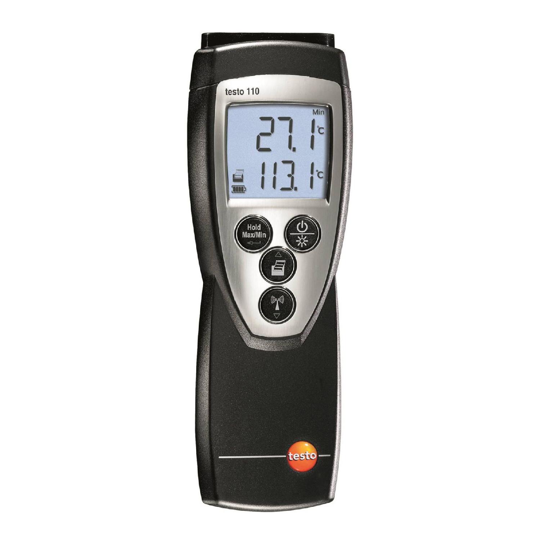 Термометр Testo 110 одноканальный для высокоточного мониторинга.