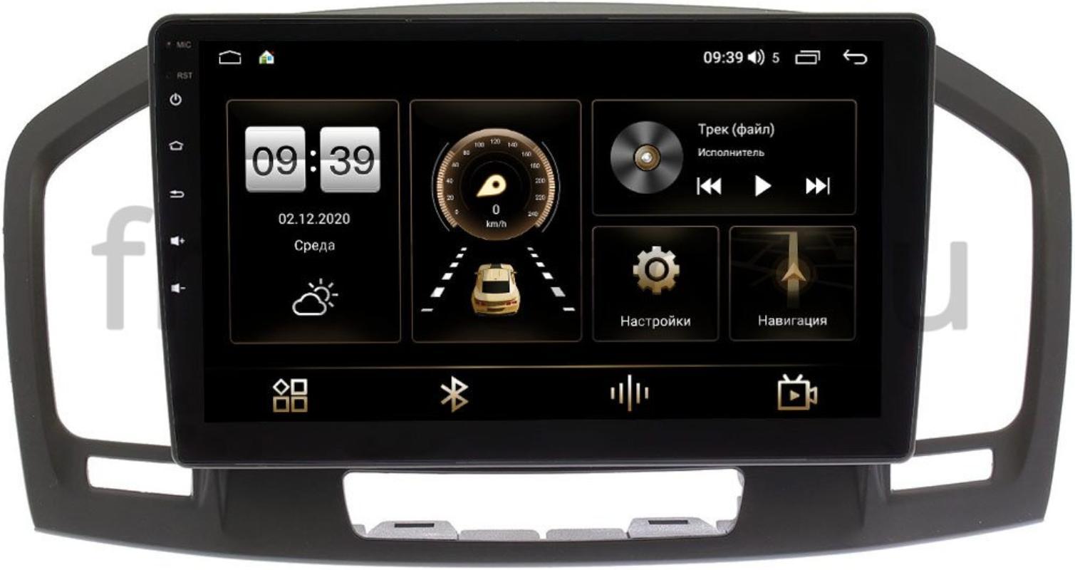 Штатная магнитола Opel Insignia I 2008-2013 LeTrun 4166-9394 на Android 10 (4G-SIM, 3/32, DSP, QLed) (+ Камера заднего вида в подарок!)