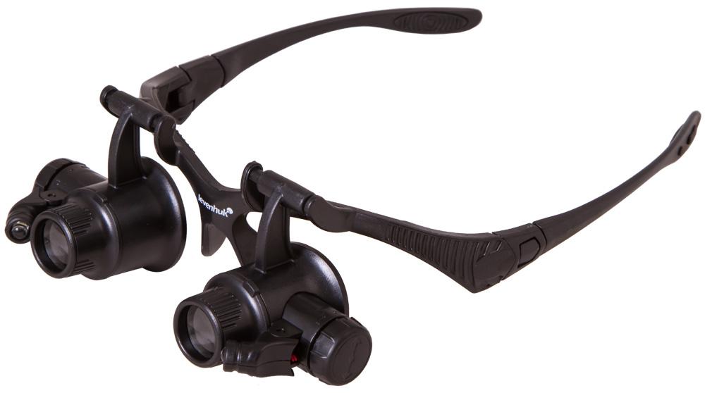 Лупа-очки Levenhuk Zeno Vizor G4 (+ Автомобильные коврики для впитывания влаги в подарок!)