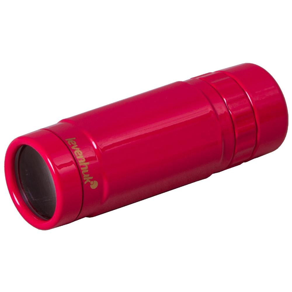 Монокуляр Levenhuk Rainbow 8x25 Red Berry (+ Автомобильные коврики для впитывания влаги в подарок!)