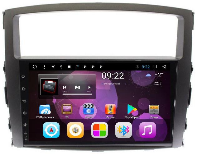 Штатная автомагнитола VOMI ST2735-T8 для Mitsubishi Pajero 4 на Android 8.1.0 (+ Камера заднего вида в подарок!) стоимость