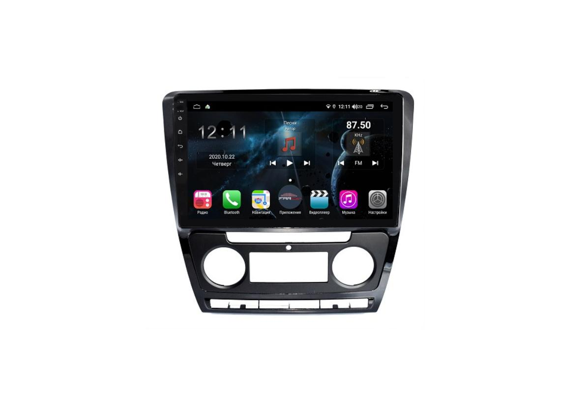 Штатная магнитола FarCar s400 для Skoda Octavia на Android (H005R) (+ Камера заднего вида в подарок!)