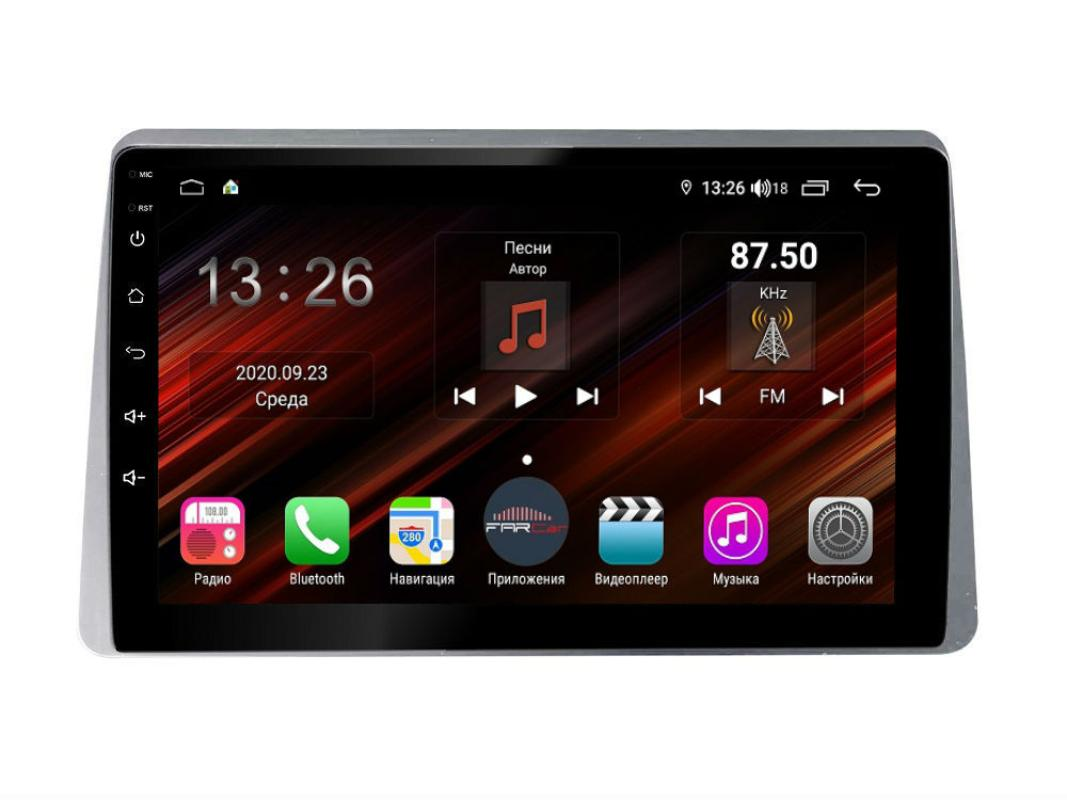Штатная магнитола FarCar s400 Super HD для Renault Arkana на Android (XH1219R) (+ Камера заднего вида в подарок!)