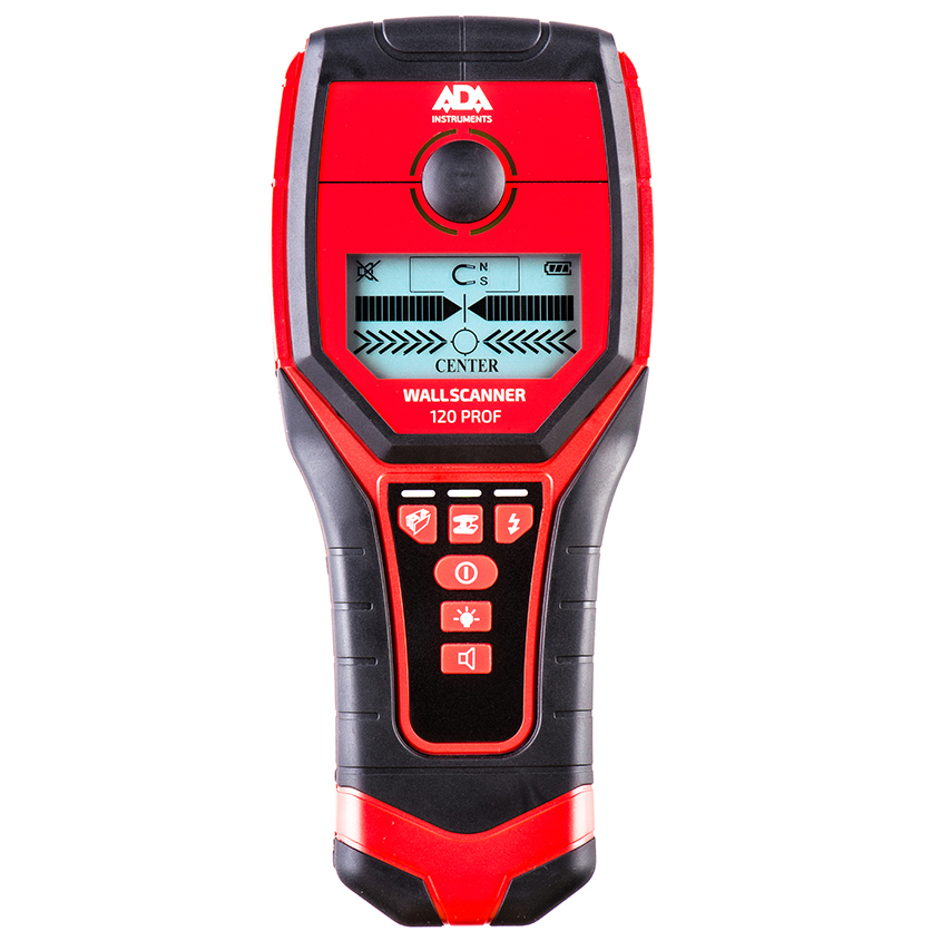 Детектор проводки ADA Wall Scanner 120 PROF детектор металла ada wall scanner 80 [а00466]
