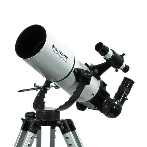 Картинка для Телескоп Celestron PowerSeeker 80 AZS (+ Книга «Космос. Непустая пустота» в подарок!)