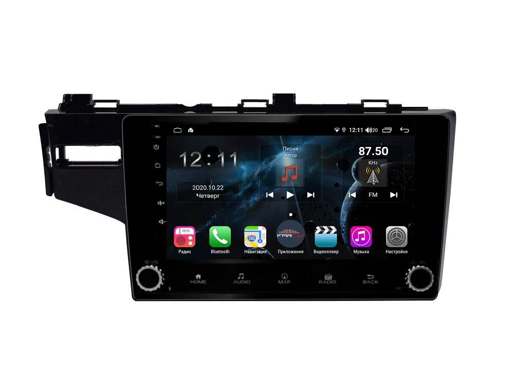 Штатная магнитола FarCar s400 для Honda Fit на Android (H1185RB) (+ Камера заднего вида в подарок!)