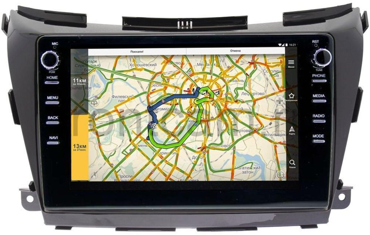 Штатная магнитола Nissan Murano III (Z52) 2014-2021 (авто с 360 обзором) LeTrun 3149-1034 Android 10 (DSP 2/16 с крутилками) (+ Камера заднего вида в подарок!)