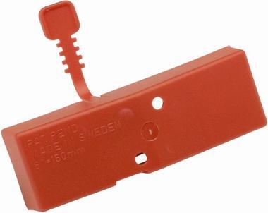 Чехол на ножи ручных ледобуров MORA ICE Easy диам 125 мм (цвет красный)