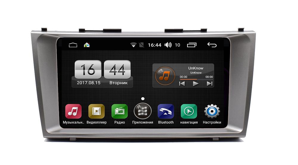 Штатная магнитола FarCar s185 для Toyota Camry 2006-2011 на Android (LY1171R) (+ Камера заднего вида в подарок!)