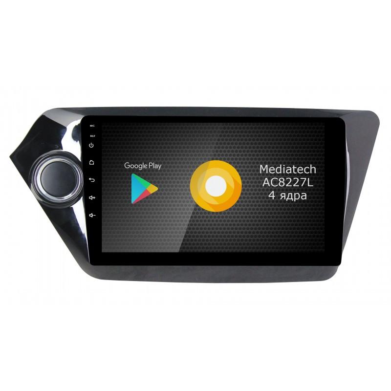 Фото - Штатная магнитола Roximo S10 RS-2314 для KIA RIO (Android 8.1) (+ Камера заднего вида в подарок!) видео