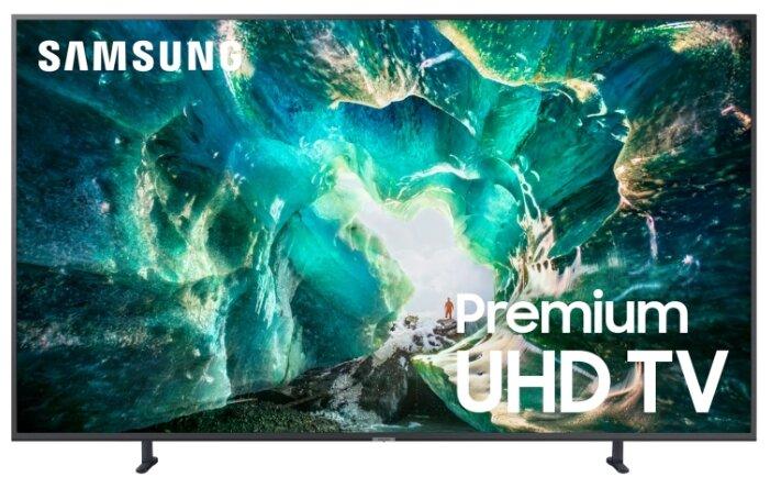 Фото - Телевизор LED Samsung 82 UE82RU8000UXRU 8 серебристый/Ultra HD/1000Hz/DVB-T2/DVB-C/DVB-S2/USB/WiFi/Smart TV (RUS) аксессуар чехол spigen для samsung galaxy note 8ultra hybrid crystal pink 587cs22064