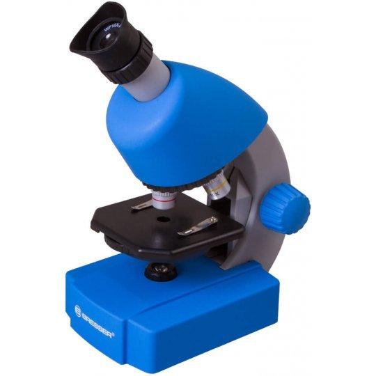Фото - Микроскоп Bresser Junior 40x-640x, синий (+ Книга «Невидимый мир» в подарок!) микроскоп bresser erudit dlx 40–600x