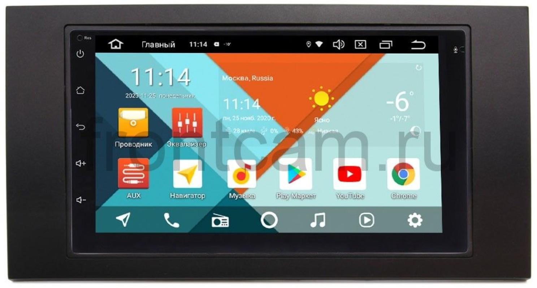 Штатная магнитола Ford Kuga, Fiesta, Fusion, Focus, Mondeo Wide Media KS7001QR-3/32-RP-FRFC-35 на Android 10 (DSP CarPlay 4G-SIM) (+ Камера заднего вида в подарок!)