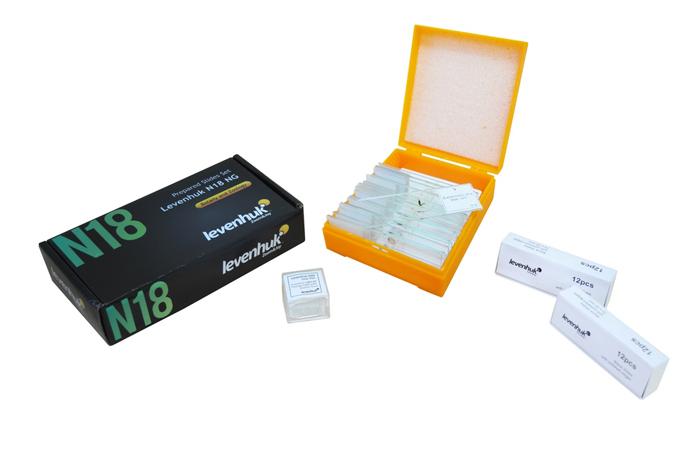 Фото - Набор готовых микропрепаратов Levenhuk N18 NG средство для мытья стекол и поверхностей 750 мл cif сиф professional 7518649