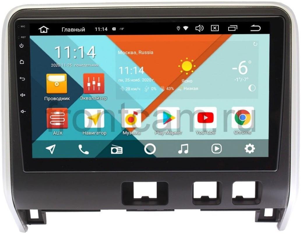 Штатная магнитола Nissan Serena V (C27) 2016-2020 (матовая) Wide Media KS1123QR-3/32 DSP CarPlay 4G-SIM на Android 10 (+ Камера заднего вида в подарок!)