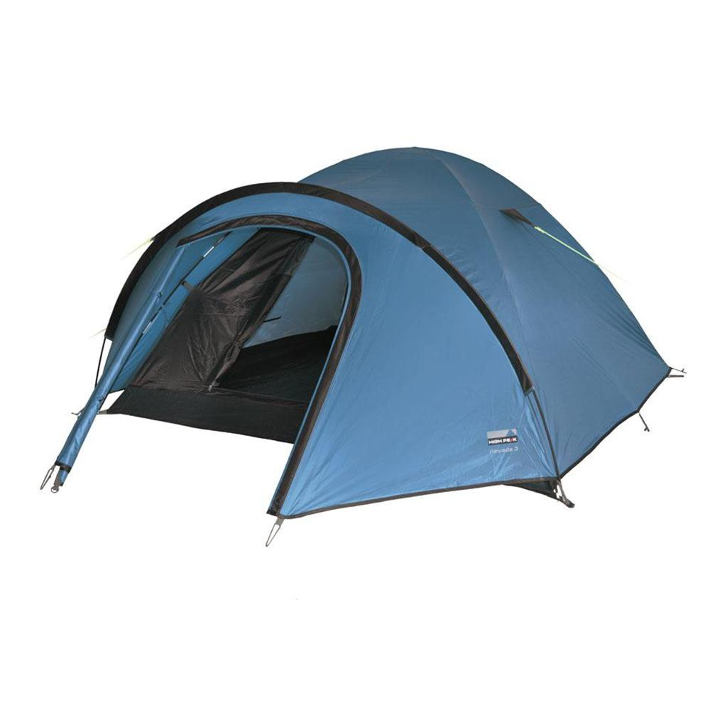 цена на Палатка HIGH PEAK Nevada 3 (цвет: синий/темно-коричневый)
