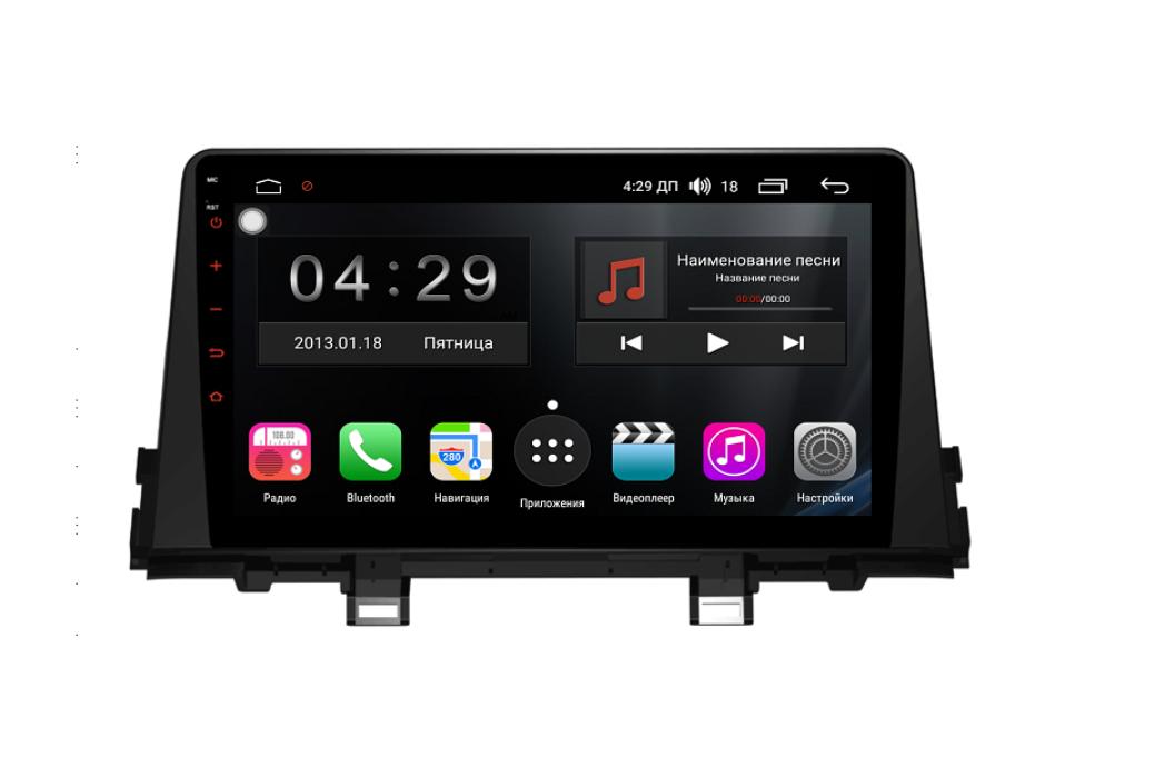 Штатная магнитола FarCar s300 для KIA Picanto на Android (RL795R) (+ Камера заднего вида в подарок!)