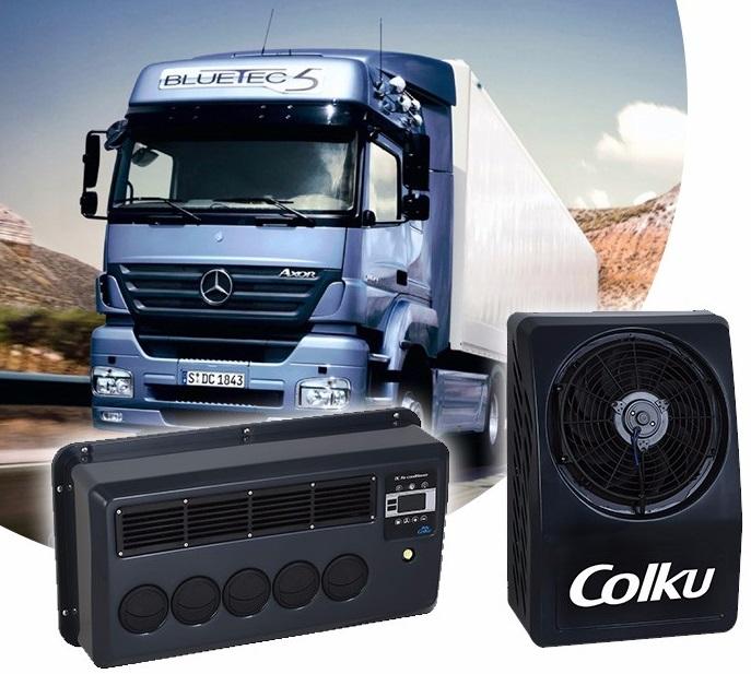 Автокондиционер вертикальной установки Colku CEV-6000S BACK 24V купить по супер-цене