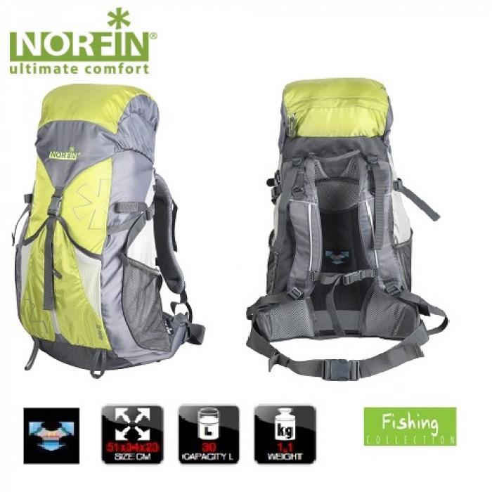 Рюкзак Norfin ALPIKA 30 NF рюкзак рыболовный salmo 105 л цвет зеленый