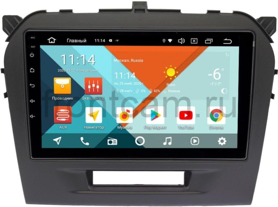 Штатная магнитола Suzuki Vitara IV 2014-2018 Wide Media KS9103QR-3/32 DSP CarPlay 4G-SIM Android 10 (+ Камера заднего вида в подарок!)