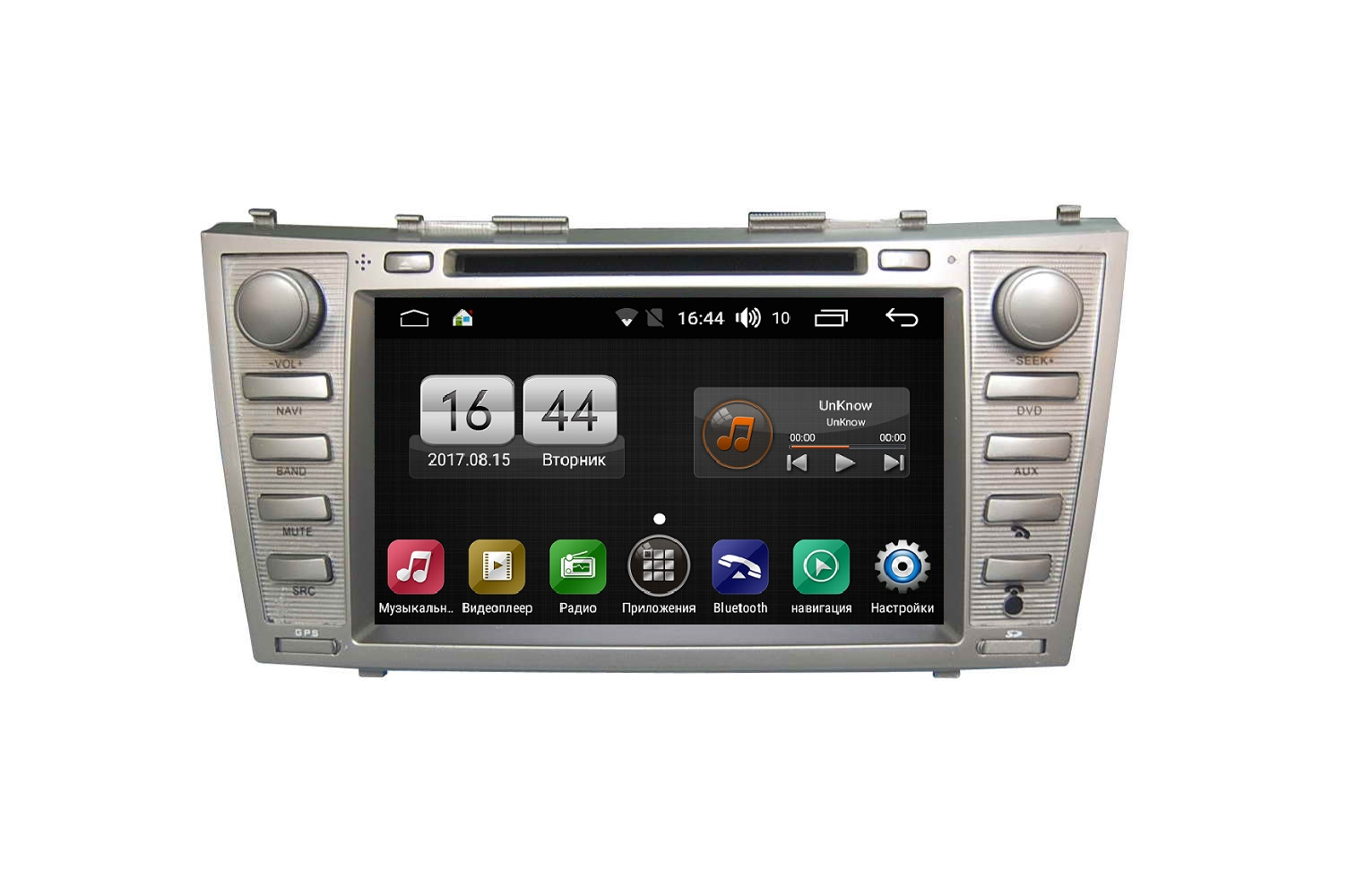 Штатная магнитола FarCar s170 для Toyota Camry на Android (L064) labo car video player 7 hd 2 din car radio stereo gps navigation fm rds bluetooth remote control rear view camera
