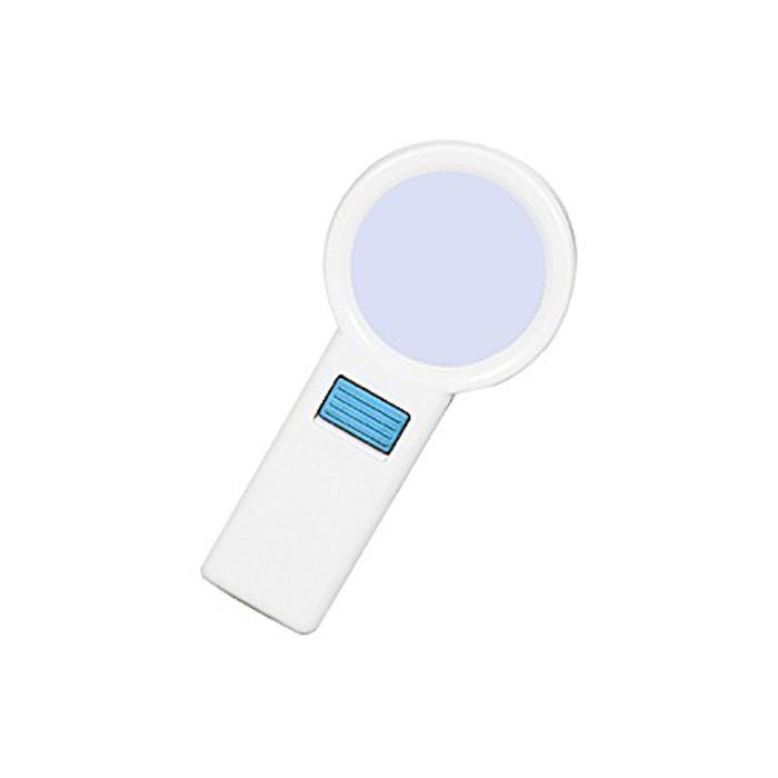 Картинка для Лупа Kromatech ручная круглая 10х, 70 мм, с подсветкой (10 LED) TH-7015