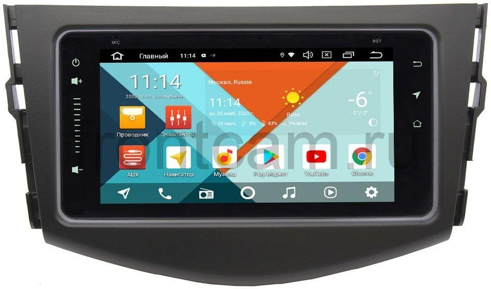 Штатная магнитола Toyota RAV4 (XA30) 2006-2013 Wide Media MT6901PK-2/16-RP-TYRV3XW-02 на Android 9.1 (DSP 3G-SIM) (+ Камера заднего вида в подарок!)