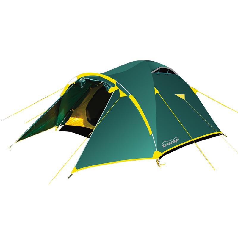 Фото - Палатка Tramp Lair 2 (V2) зеленая палатка arten space