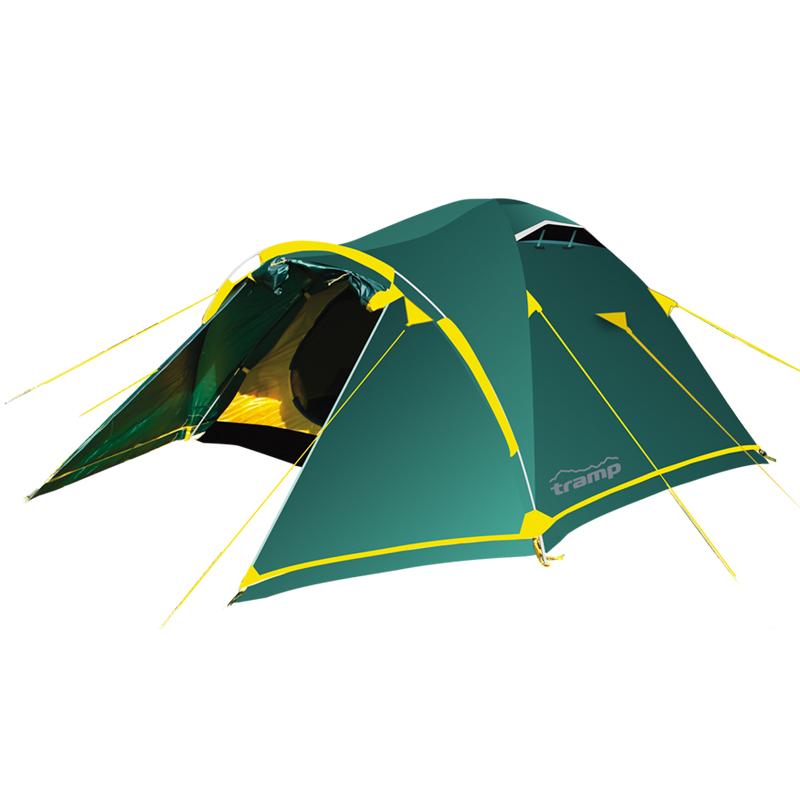 Палатка Tramp Stalker 2 (V2) зеленая