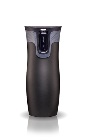 Термокружка Contigo West Loop (0,47 литра), черная (+ Антисептик-спрей для рук в подарок!) contigo0289