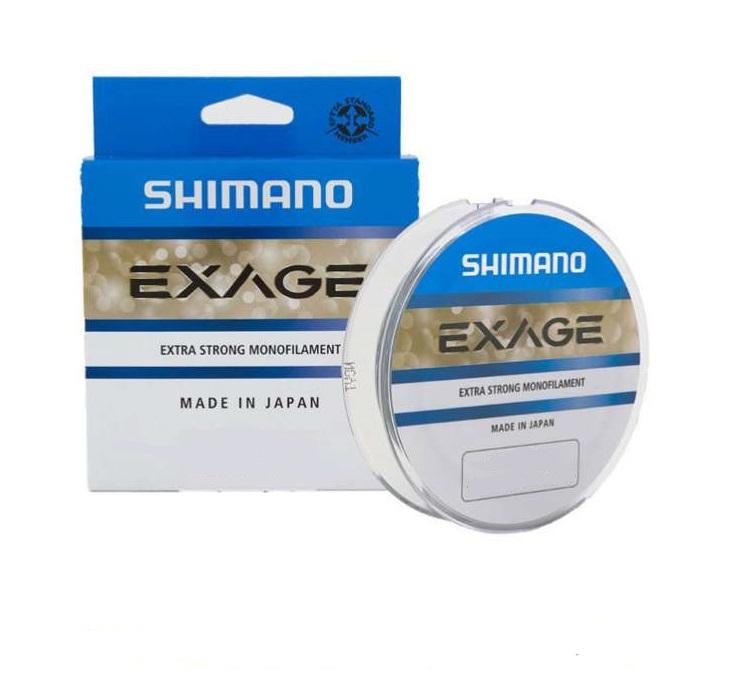 Леска SHIMANO Exage 150м прозрачная 0.125мм 1.3кг.