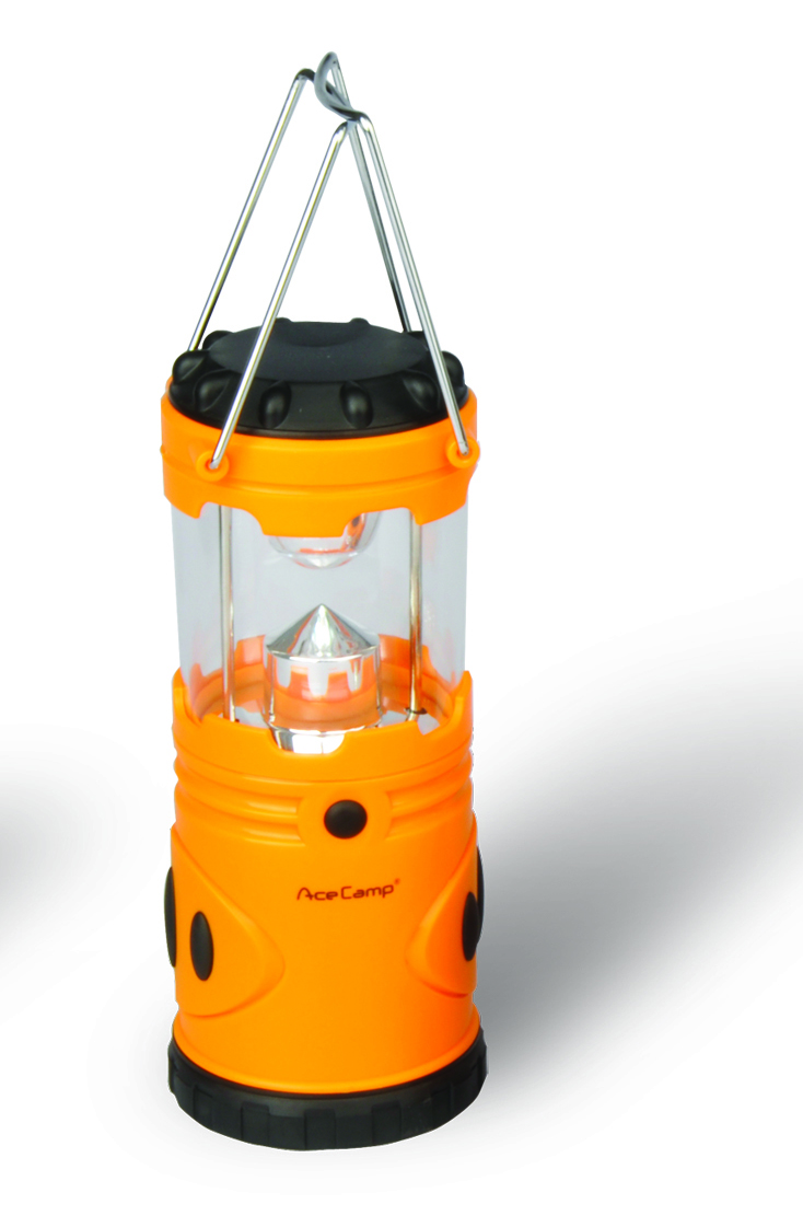 Лампа кемпиноговая AceCamp 1015 (+ Антисептик-спрей для рук в подарок!)