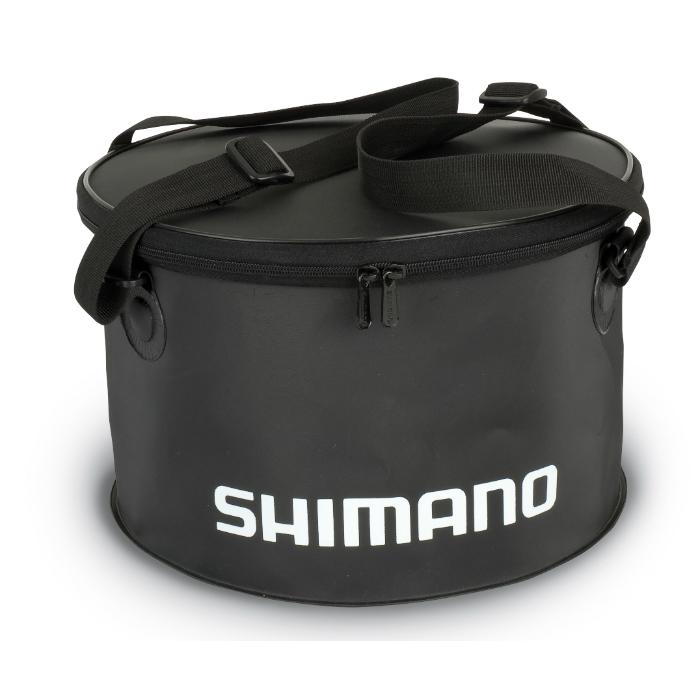 Сумка Shimano PVC GROUNDBAIT BOWL LARGE черн.