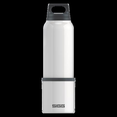 Картинка для Термобутылка Sigg H&C (0,75 литра), белая (+ Антисептик-спрей для рук в подарок!)