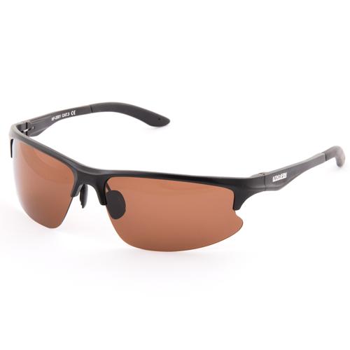 Фото - Очки поляризационные Norfin линзы коричневые оправа алюминий 01 кафа франц очки водителя поляризационные унисекс серая линза сf3120