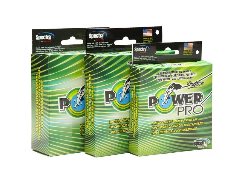 Леска плетеная POWER PRO 275м зеленая 0.13 8кг