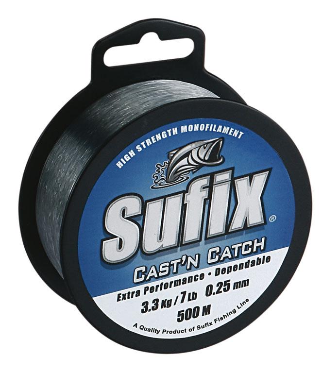 Леска SUFIX Cast'n Catch x10 синяя 100м 0.40мм 9кг