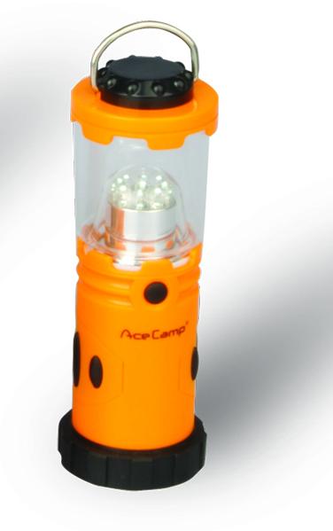Лампа кемпиноговая карманная AceCamp 1014 (+ Антисептик-спрей для рук в подарок!)