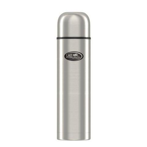 Термос Biostal Охота (1,2 литра), 2 чашки, с ситечком, стальной