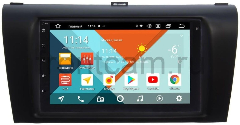 Штатная магнитола Mazda 3 (BK) 2003-2009 Wide Media KS7001QR-3/32-RP-MZ3D-116 на Android 10 (DSP CarPlay 4G-SIM) (+ Камера заднего вида в подарок!)