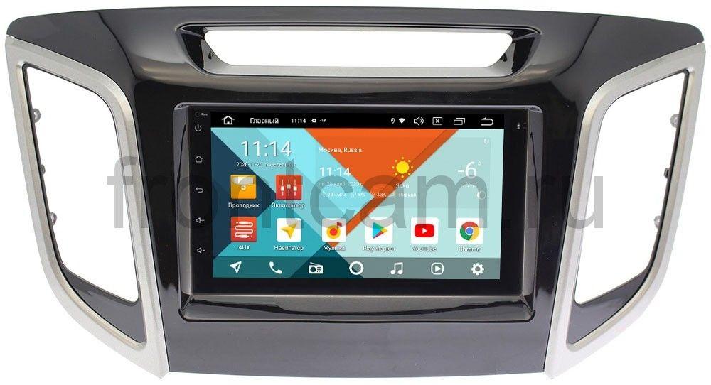 Штатная магнитола Hyundai Creta 2016-2019 Wide Media MT7001PK-2/16-RP-HDI25N-111 на Android 9.1 (DSP 3G-SIM) (+ Камера заднего вида в подарок!)