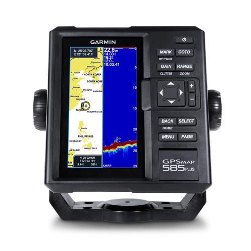 Garmin GPSMAP 585 Plus с трансдьюсером GT20